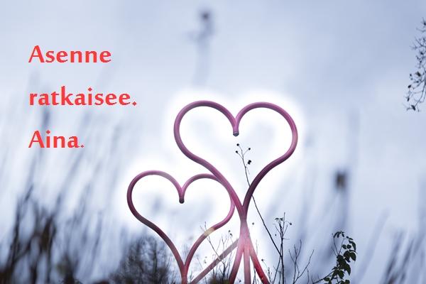 Rakkautta vaan
