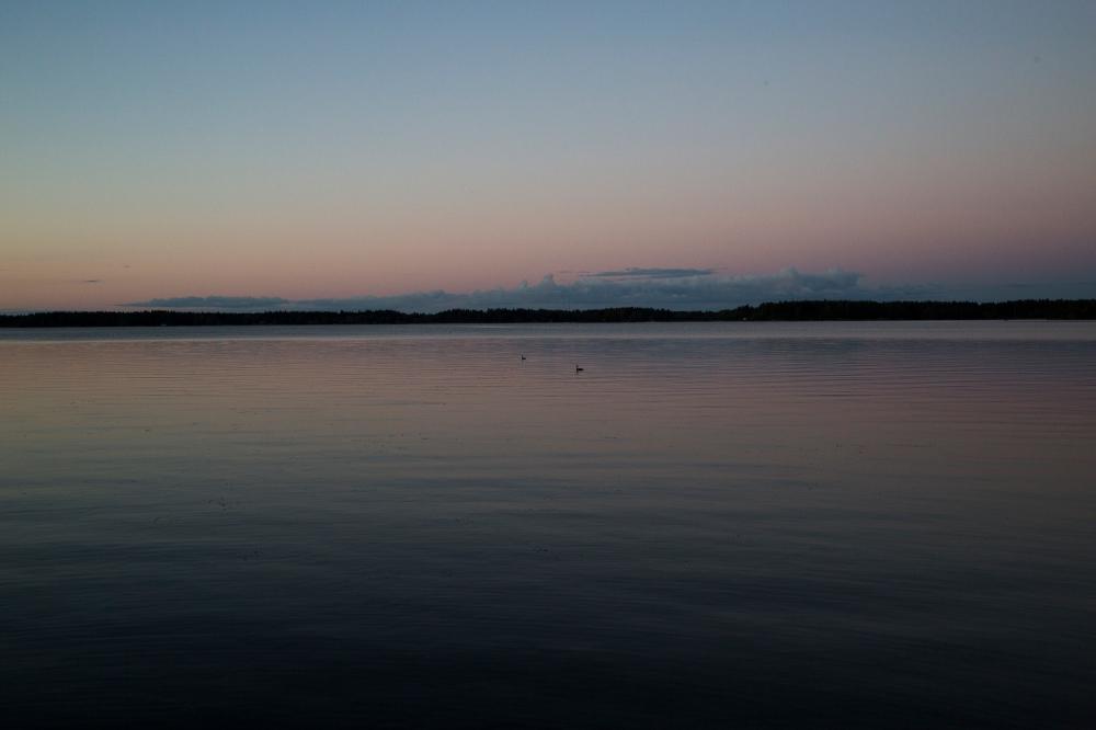 Elokuun ilta saaressa